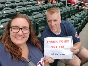 Kelvin attended Minnesota Twins vs. Oakland Athletics - MLB on Aug 26th 2018 via VetTix
