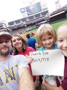 Joshua attended Minnesota Twins vs. Oakland Athletics - MLB on Aug 26th 2018 via VetTix