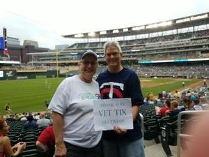 Antoinette attended Minnesota Twins vs. Oakland Athletics - MLB on Aug 26th 2018 via VetTix