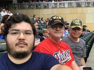 James attended Minnesota Twins vs. Oakland Athletics - MLB on Aug 26th 2018 via VetTix