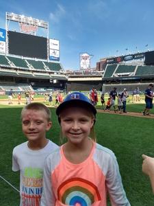 Rebekah attended Minnesota Twins vs. Oakland Athletics - MLB on Aug 26th 2018 via VetTix