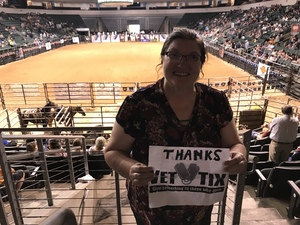 Tina attended Cedar Park Rodeo - Presented by the HEB Center at Cedar Park on Aug 18th 2018 via VetTix