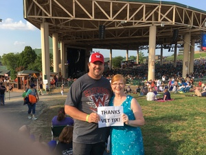 Randy attended Chicago / Reo Speedwagon on Aug 11th 2018 via VetTix