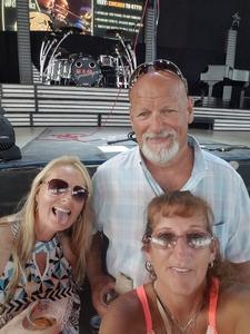 Stephanie attended Chicago / Reo Speedwagon on Aug 11th 2018 via VetTix