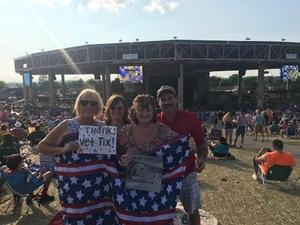 Deanna attended Chicago / Reo Speedwagon on Aug 11th 2018 via VetTix