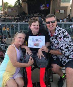 William attended Chicago / Reo Speedwagon on Aug 11th 2018 via VetTix