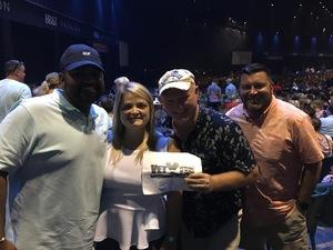 Gary attended Keith Urban: Graffiti U World Tour - Country on Aug 3rd 2018 via VetTix