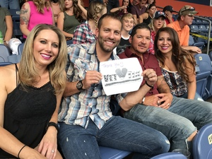Nathan attended Luke Bryan: What Makes You Country Tour 2018 - Country on Aug 4th 2018 via VetTix