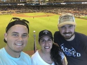 Amber attended Miami Marlins vs. Atlanta Braves - MLB on Aug 26th 2018 via VetTix