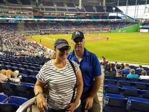 Javier attended Miami Marlins vs. Atlanta Braves - MLB on Aug 26th 2018 via VetTix