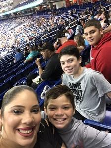 Angel attended Miami Marlins vs. Atlanta Braves - MLB on Aug 26th 2018 via VetTix