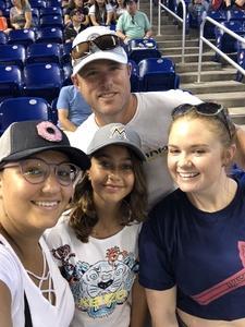 Robin attended Miami Marlins vs. Atlanta Braves - MLB on Aug 26th 2018 via VetTix