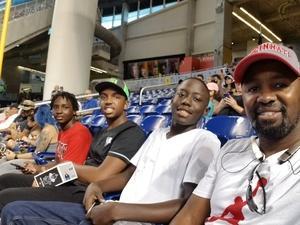 Keith attended Miami Marlins vs. Atlanta Braves - MLB on Aug 26th 2018 via VetTix