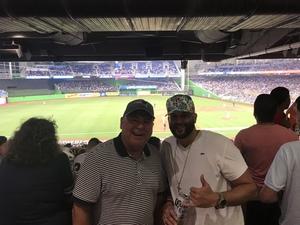 Victor attended Miami Marlins vs. Atlanta Braves - MLB on Aug 26th 2018 via VetTix