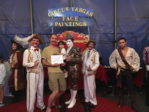 Zachary attended Circus Vargas: The Big One is Back *See Special Instructions on Aug 16th 2018 via VetTix