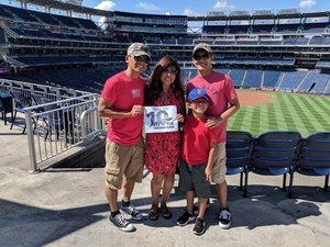 Aldwin attended Washington Nationals vs. St. Louis Cardinals - MLB on Sep 3rd 2018 via VetTix