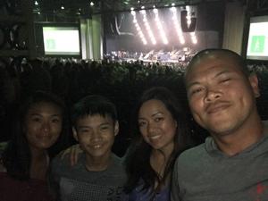 Alex attended Pentatonix - Pop on Aug 11th 2018 via VetTix