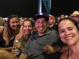 Enrique attended Keith Urban: Graffiti U World Tour - Country on Aug 12th 2018 via VetTix