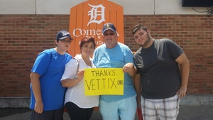 Bruce attended Detroit Tigers vs. Minnesota Twins - MLB on Aug 12th 2018 via VetTix