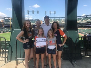 Brad attended Detroit Tigers vs. Minnesota Twins - MLB on Aug 12th 2018 via VetTix