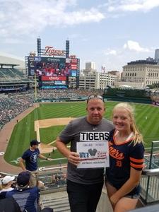 Jason attended Detroit Tigers vs. Minnesota Twins - MLB on Aug 12th 2018 via VetTix