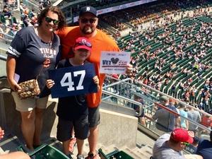 Jesse attended Detroit Tigers vs. Minnesota Twins - MLB on Aug 12th 2018 via VetTix