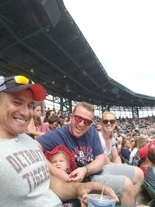 John attended Detroit Tigers vs. Minnesota Twins - MLB on Aug 12th 2018 via VetTix