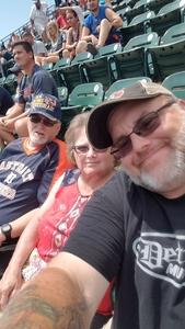 Samuel attended Detroit Tigers vs. Minnesota Twins - MLB on Aug 12th 2018 via VetTix