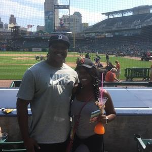 nicholas attended Detroit Tigers vs. Minnesota Twins - MLB on Aug 12th 2018 via VetTix