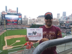 Javier attended Detroit Tigers vs. Minnesota Twins - MLB on Aug 12th 2018 via VetTix