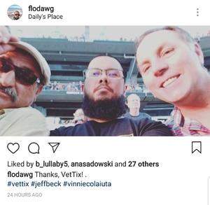 ROY attended Stars Align Tour: Jeff Beck & Paul Rodgers and Ann Wilson of Heart - Pop on Aug 23rd 2018 via VetTix
