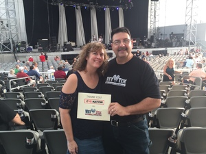 George attended Stars Align Tour: Jeff Beck & Paul Rodgers and Ann Wilson of Heart - Pop on Aug 23rd 2018 via VetTix