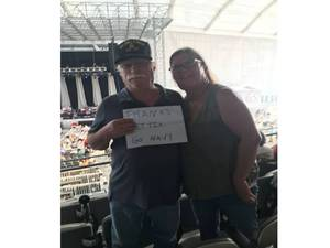 Salvatore attended Stars Align Tour: Jeff Beck & Paul Rodgers and Ann Wilson of Heart - Pop on Aug 23rd 2018 via VetTix