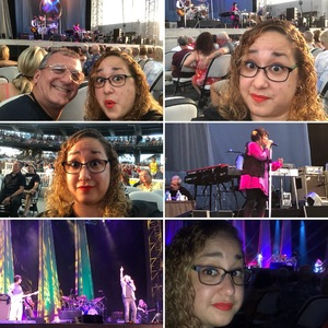 Rosa attended Stars Align Tour: Jeff Beck & Paul Rodgers and Ann Wilson of Heart - Pop on Aug 23rd 2018 via VetTix