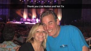 Alan attended Stars Align Tour: Jeff Beck & Paul Rodgers and Ann Wilson of Heart - Pop on Aug 23rd 2018 via VetTix