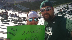 Ryan attended Michigan State Spartans vs. Utah State Aggies - NCAA Football on Aug 31st 2018 via VetTix