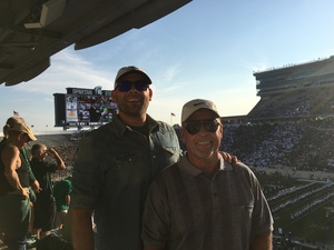 Clint attended Michigan State Spartans vs. Utah State Aggies - NCAA Football on Aug 31st 2018 via VetTix