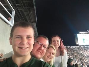 Craig attended Michigan State Spartans vs. Utah State Aggies - NCAA Football on Aug 31st 2018 via VetTix