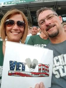 John attended Michigan State Spartans vs. Utah State Aggies - NCAA Football on Aug 31st 2018 via VetTix