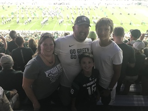 Darrick attended Michigan State Spartans vs. Utah State Aggies - NCAA Football on Aug 31st 2018 via VetTix