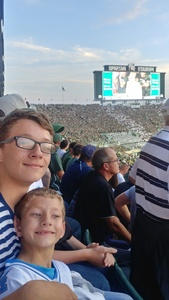 Ricky attended Michigan State Spartans vs. Utah State Aggies - NCAA Football on Aug 31st 2018 via VetTix