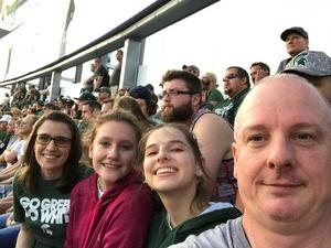 Timothy attended Michigan State Spartans vs. Utah State Aggies - NCAA Football on Aug 31st 2018 via VetTix