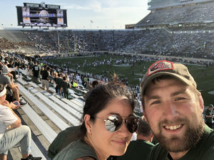 Cody attended Michigan State Spartans vs. Utah State Aggies - NCAA Football on Aug 31st 2018 via VetTix
