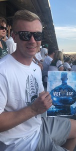 Christian attended Michigan State Spartans vs. Utah State Aggies - NCAA Football on Aug 31st 2018 via VetTix