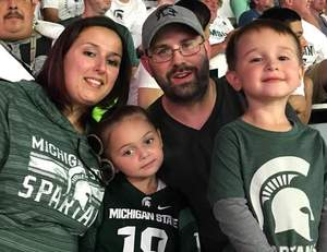 Ted attended Michigan State Spartans vs. Utah State Aggies - NCAA Football on Aug 31st 2018 via VetTix