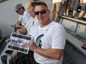 CHRIS attended Michigan State Spartans vs. Utah State Aggies - NCAA Football on Aug 31st 2018 via VetTix