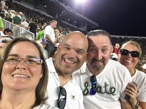 james attended Michigan State Spartans vs. Utah State Aggies - NCAA Football on Aug 31st 2018 via VetTix
