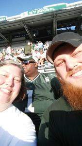 Anthony attended Michigan State Spartans vs. Utah State Aggies - NCAA Football on Aug 31st 2018 via VetTix