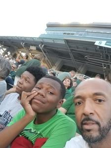 Jaylan attended Michigan State Spartans vs. Utah State Aggies - NCAA Football on Aug 31st 2018 via VetTix