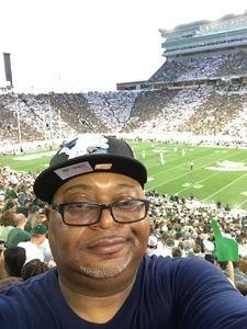 Stanley attended Michigan State Spartans vs. Utah State Aggies - NCAA Football on Aug 31st 2018 via VetTix